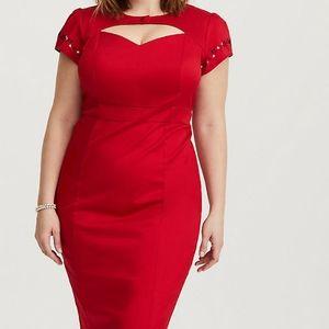 Torrid runway plus size 24 Betty Boop dress